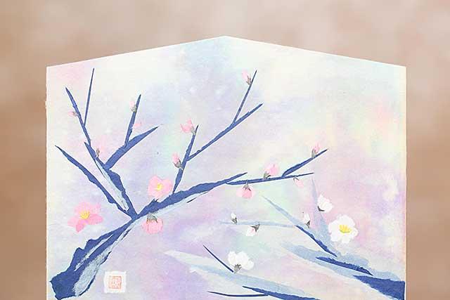 2002-和紙ちぎり絵作家 葛西妙子